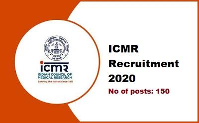 ICMR Job 2020