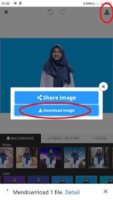 Edit Background Foto secara online