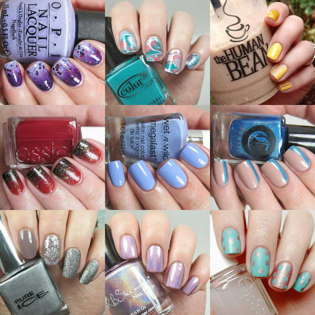 Instagram-best-nine-nail-art