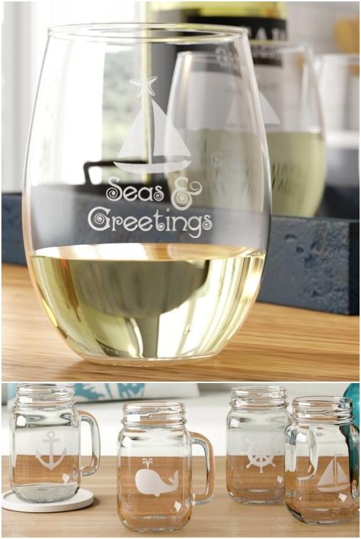 Nautical Glassware