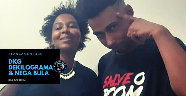 """Os mc's gauchos, Dkg Dekilograma e Nega Bula lançam o single """"Das ruas do sul"""""""