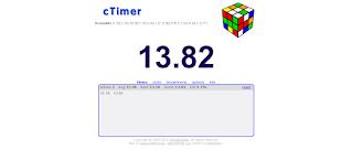 ctimer speedcubing watch