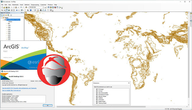 ESRI ArcGIS Desktop FULL Extension v10.8.1