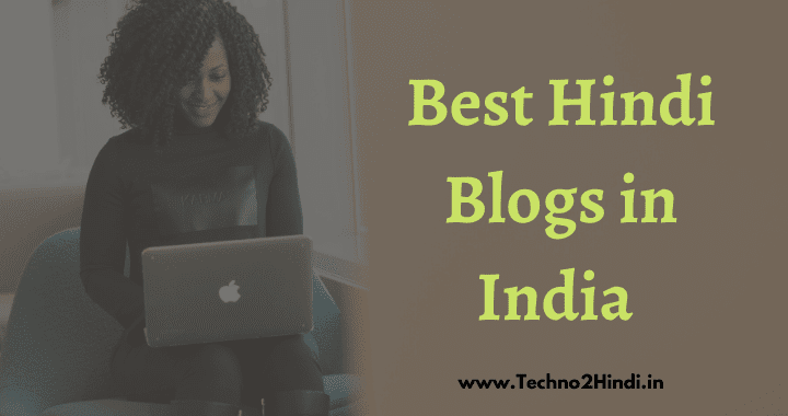 Top Popular Best Hindi Blogs in India 202