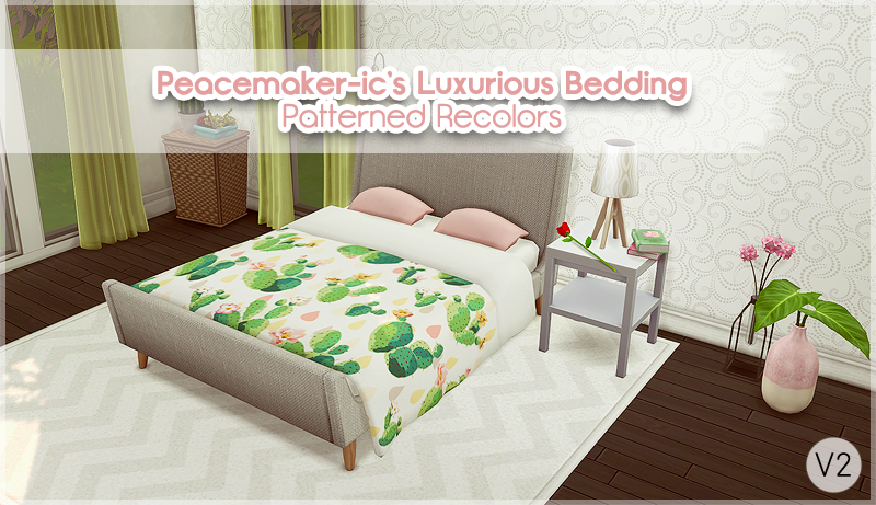 My Sims 4 Blog Luxurious Bedding Recolors By Allisas