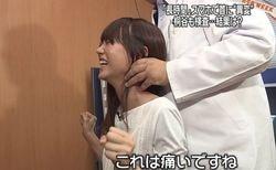【画像】桐谷美玲、医者に全身を触診されまくる