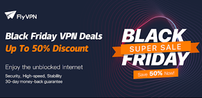 Get 2 years of FlyVPN service for $119 in this great Black Friday deal