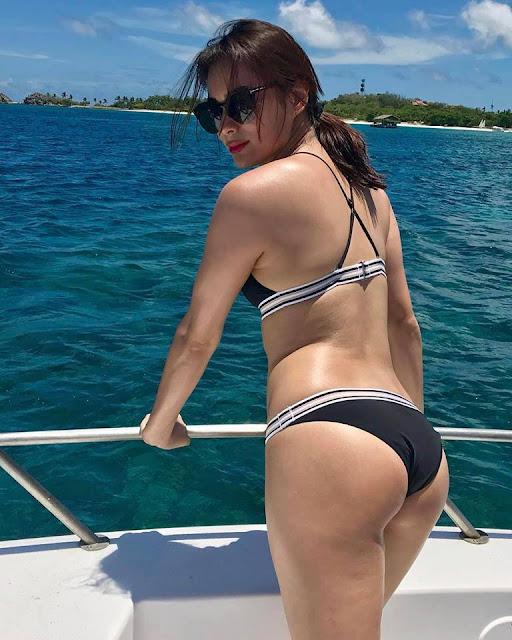 LOOK: This Woman Looked Just Like Liza Soberano In Her Bikini Photos!