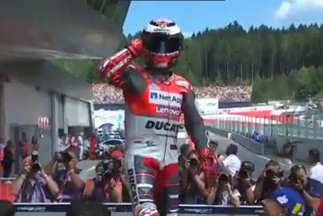 Jorge Lorenzo Juara Motogp Red Bull Ring Austria 2018