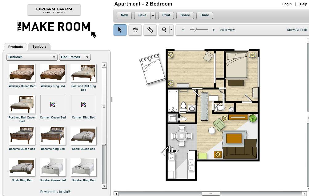 simuladores online ambientes decoracion