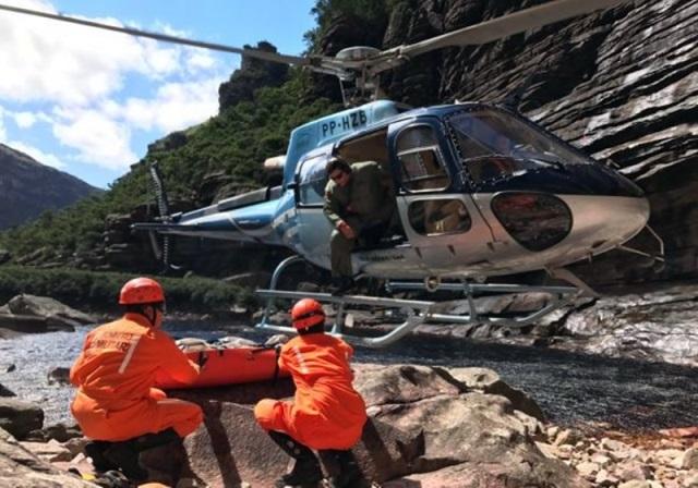 Bombeiros resgatam turistas perdidos em trilha na região da Chapada Diamantina