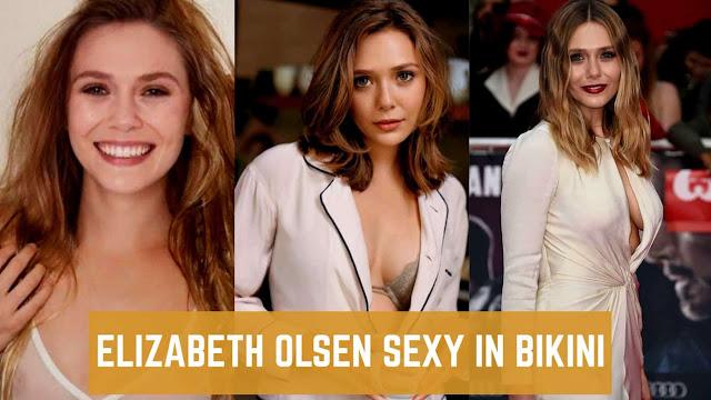Elizabeth Olsen Sexy Bikini Photos