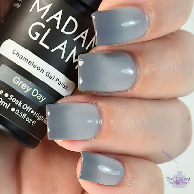madam glam grey day swatch