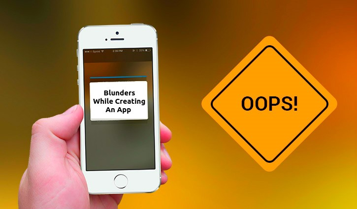 smartphone app error message
