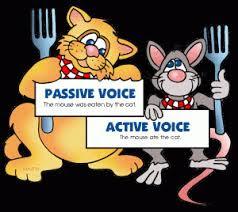 شرح المبنى للمعلوم والمبنى للمجهول Active passive voice