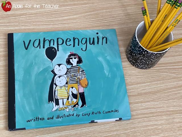 Vampenguin book cover