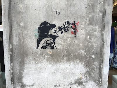 Padova Street Art - Profile of a man