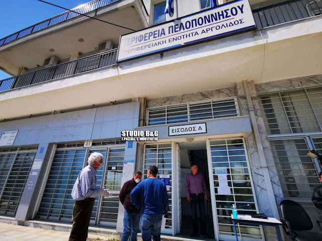 Αγροτοκτηνοτρόφοι της Αργολίδας κατέθεσαν αιτήματα στον Αντιπεριφερειάρχη
