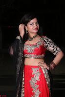 Sirisha Dasari in Red Ghagra Backless Choli ~  021.JPG