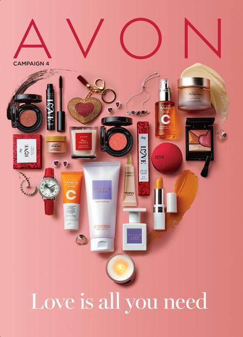 AVON Brochure Campaign 4 2021