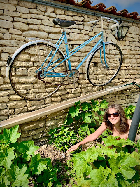 French Village Diaries World Naked Gardening Day #wngd 2021