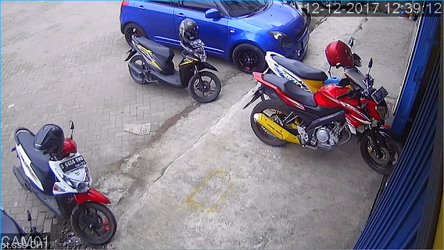 hasil cctv outdoor 2mp