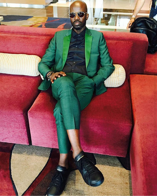 Black Coffee wins Viewer's Choice Best International Act at BET Awards 2016