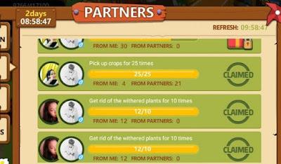 Mengajak Teman (Partner)