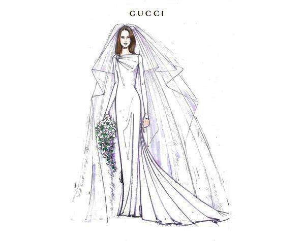 vestidos de noiva croquis de estilistas famosos noiva