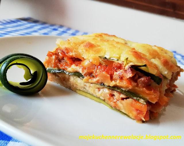 lasagne z cukinia