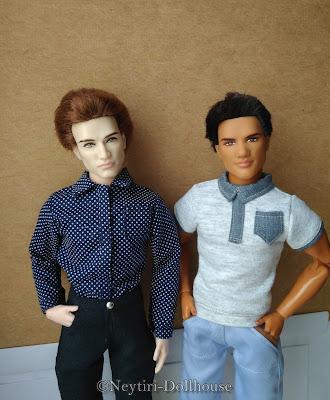 BMR Ken Twilight dolls rebody