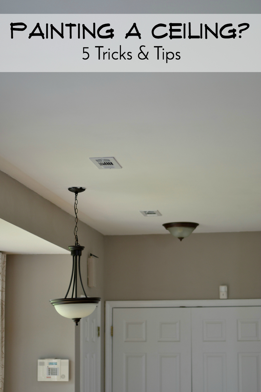 Architecture Of A Mom 5 Tips For Painting Ceilings