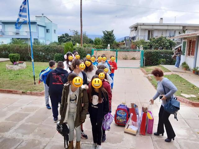 Μαθητές του Αγγελοπούλειου Δημοτικού Σχολείου Ανυφίου στο Ε.Ε.Ε.Ε.Κ Αργολίδας