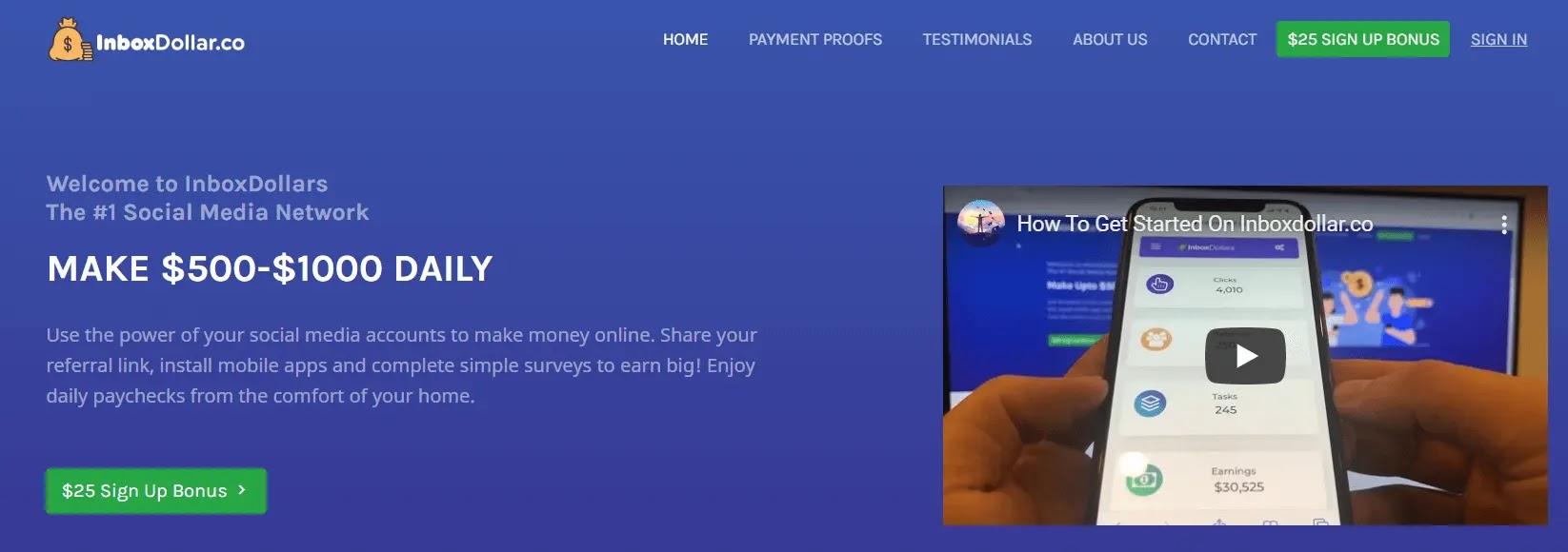 InboxDollar - PTC Sites