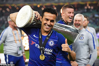 Chelsea's Pedro becomes first ever player to win almost All League in World football