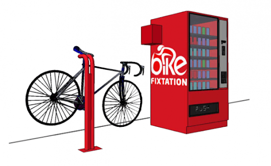 Bicycle Parts Vending Machine
