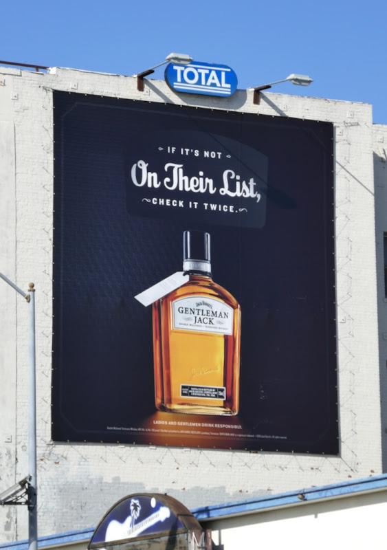 on their list Jack Daniels Gentleman Jack billboard
