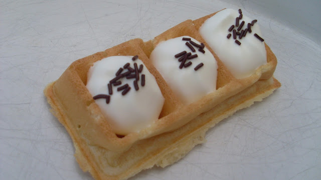 gaufres à la chantilly