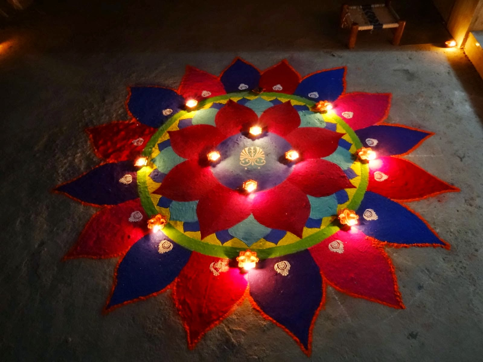Diwali Rangoli Designs 2017 Best For