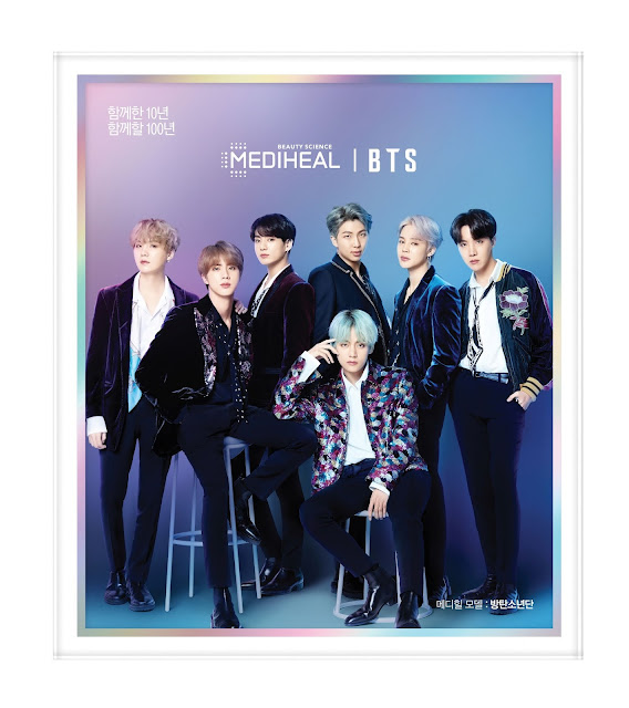 "Mediheal x BTS Limited Edition Bio Capsulin ""Love Me"" Mask Set"
