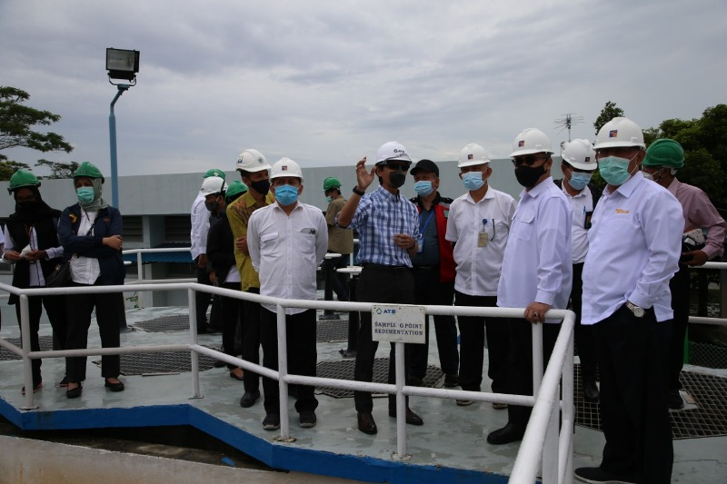 BP Batam dan PT ATB Tinjau Water Treatment Plant Bersama