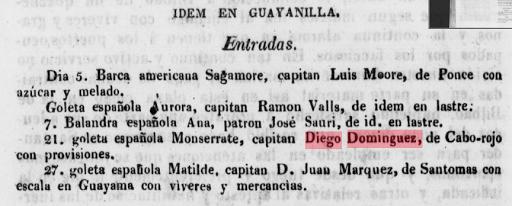 Entradas Puerto Guayanilla Diego Dominguez Cabo Rojo