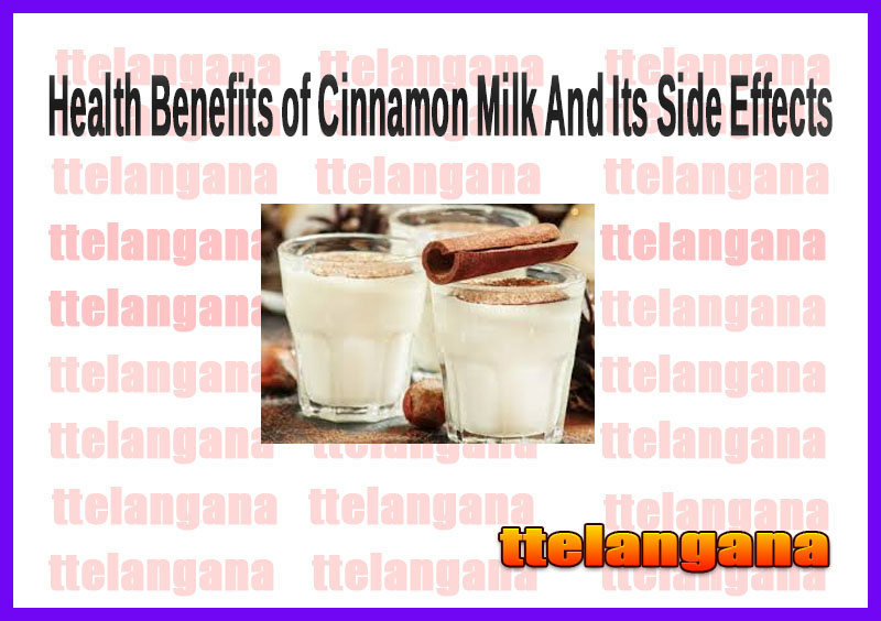 Health Benefits of Cinnamon Milk And Its Side Effects