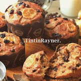 Resep Paling The Best Banana Muffin Ever, Super Moist No mixer Lagi