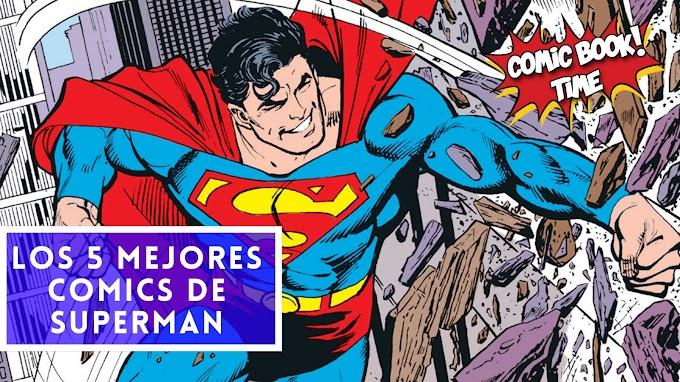 Los 5 mejores cómics de Superman