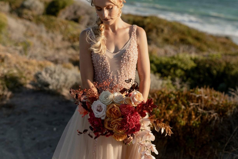 STYLED SHOOT: LUXE BEACH ELOPEMENT WEDDING INSPIRATION PERTH WA