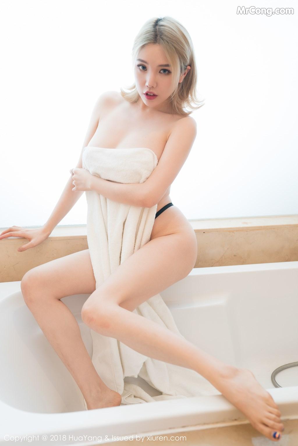 Image HuaYang-2018-08-22-Vol.074-Huang-Le-Ran-MrCong.com-006 in post HuaYang 2018-08-22 Vol.074: Người mẫu Huang Le Ran (黄楽然) (48 ảnh)