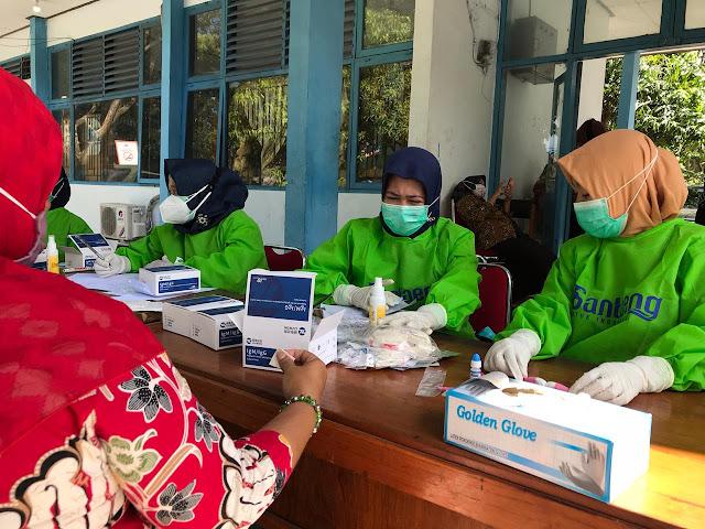 Rapid Test Massal di Bantaeng Sasar Wilayah Perkantoran