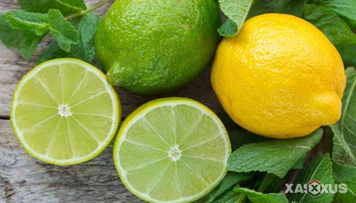 Cara menghilangkan bruntusan di wajah dengan jeruk nipis