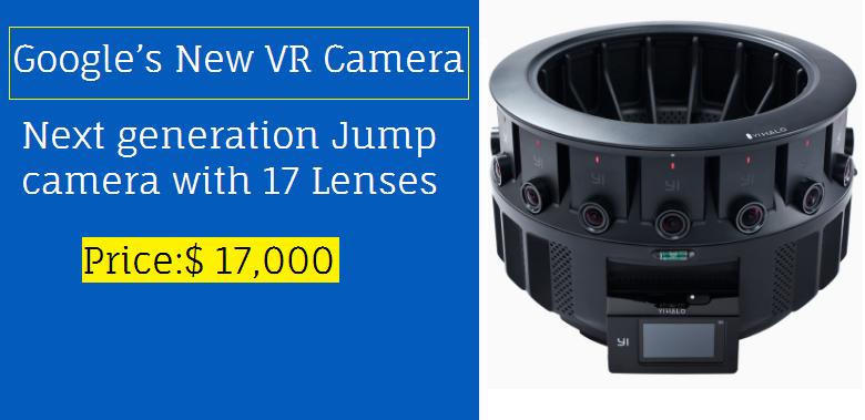 Google's New VR Camera